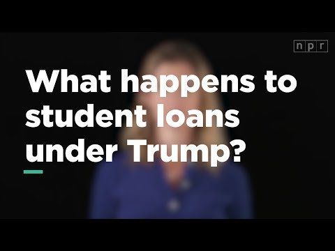 What Will Happen to my Student Loans Under Trump? | Let's Talk | NPR