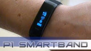P1 SmartBand. Огляд фітнес браслета вимірює тиск. Перевірка тонометром.