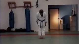 Matsubayashi Shorin Ryu, Pinan Shodan. Eihachi Ota