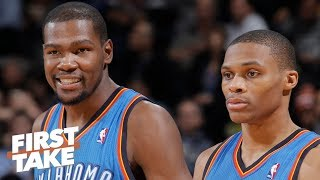 Stephen A.: Russell Westbrook didn't view Kevin Durant as OKC's leader | First Take