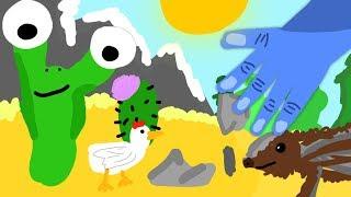 maudado erschafft eine Wüste