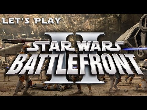 """Let's Play """"Star Wars: Battlefront 2 (Classic: 2005)"""" [Round 2: Part 3] """"Utapau""""  """