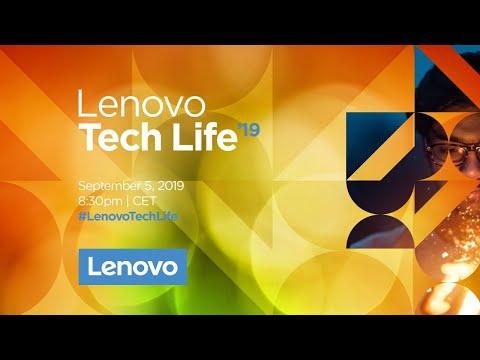 Lenovo Tech Life 2019 in Berlin – Keynote Livestream