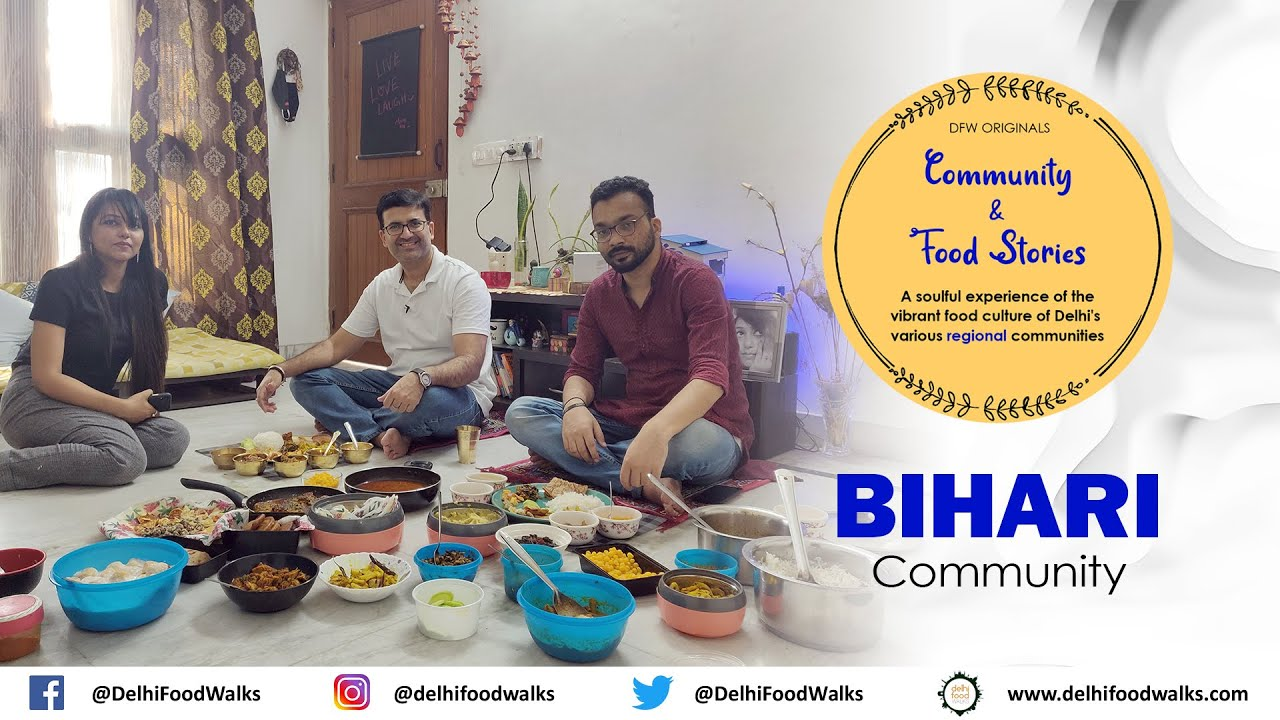 HUGE Bihari Feast in Delhi IKushi Kerao Jhor + Bata Maach Jhor + Oal Chokha + Chilki Roti + Rasiya