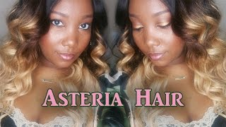 Asteria Hair (Aliexpress) | 3 Tone Ombre Brazilian Hair | LongHairPrettyNails