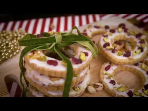Delicious Circle Christmas Wreath Biscuits Rte Player Food Bites