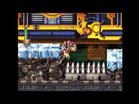 Mega Man X6 playthrough [Part 5: Metal Shark Player/Shield Sheldon/Dynamo/Item Cleanup]
