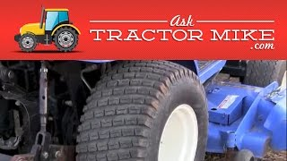 The Three Types of Compact Tractor Tires
