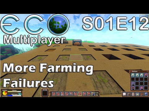 Let's Play Eco | S01E12 MP | More Farming Failures