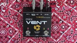 Neo Instruments MINI Vent rotating speaker guitar & keyboard pedal demo
