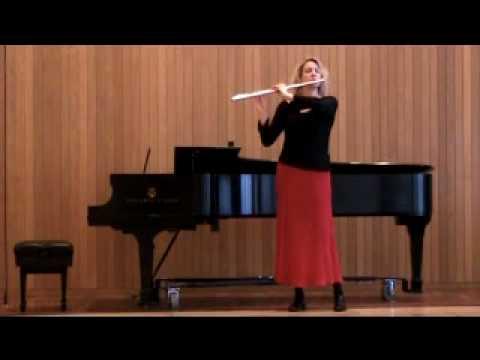 "Linda Chatterton:""Syrinx"" - Claude Debussy"