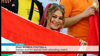 Iranian women banned from entering stadium to watch Iran-Syria match, unlike Syrian women