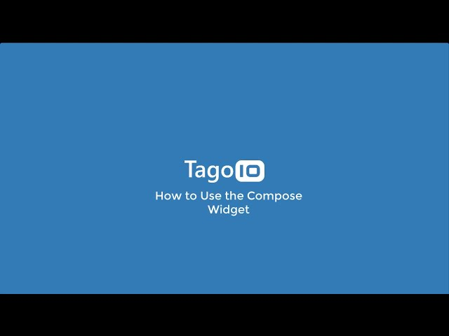 How to Use the Compose Widget