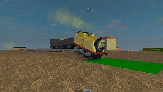 Thomas and Friends Roblox Thomas the trains Crashes Funny Accidents Will Happen