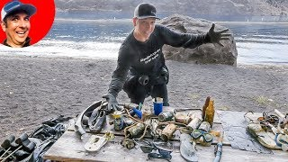 (Gimbal Giveaway) Found ITALIAN Sunglasses, Car Keys, Mask, and Goggles while Scuba Diving in Lake
