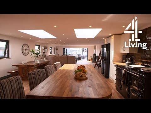 Couple Build 4 Bedroom Floating Home Out of 60 Year Old Boat Hull   My Floating Home