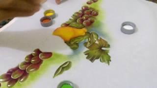 Pintando pera