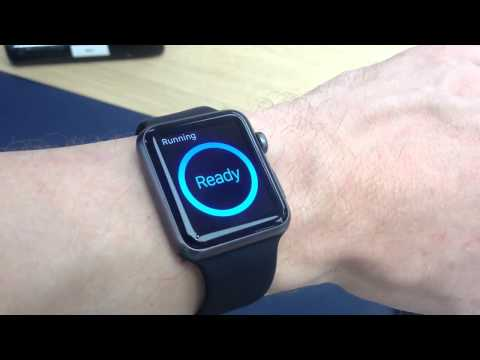 apple watch sport 42mm demo mode and siri test youtube. Black Bedroom Furniture Sets. Home Design Ideas