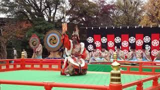 雅楽、traditional japanese music、gagaku、美し国、三重、桑名、六華苑、2009秋の舞楽会、時間6分9秒