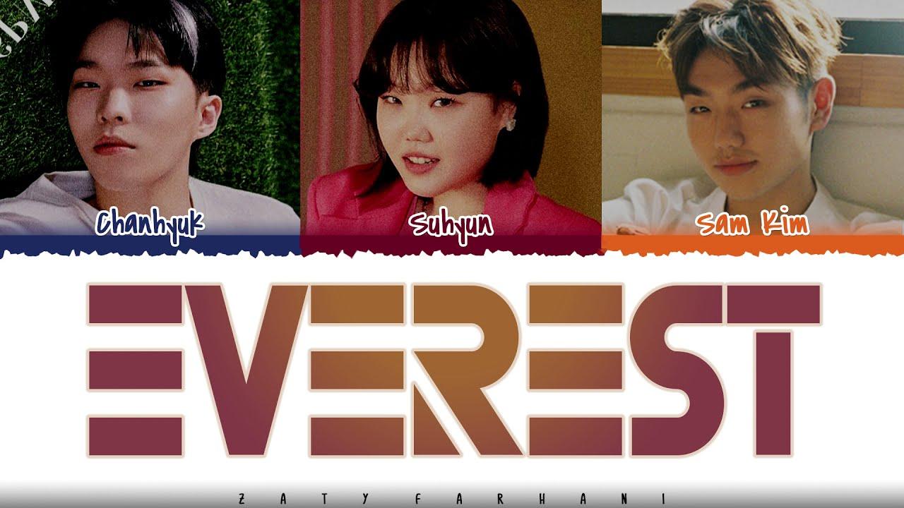 AKMU - 'EVEREST' (with Sam Kim) Lyrics [Color Coded_Han_Rom_Eng]