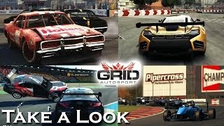 GRID Autosport - X360 PS3 Gameplay (XBOX 360 720P) Take a Look