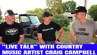 LIVE TALK JAMMIN with Country Music Artist Craig Campbell