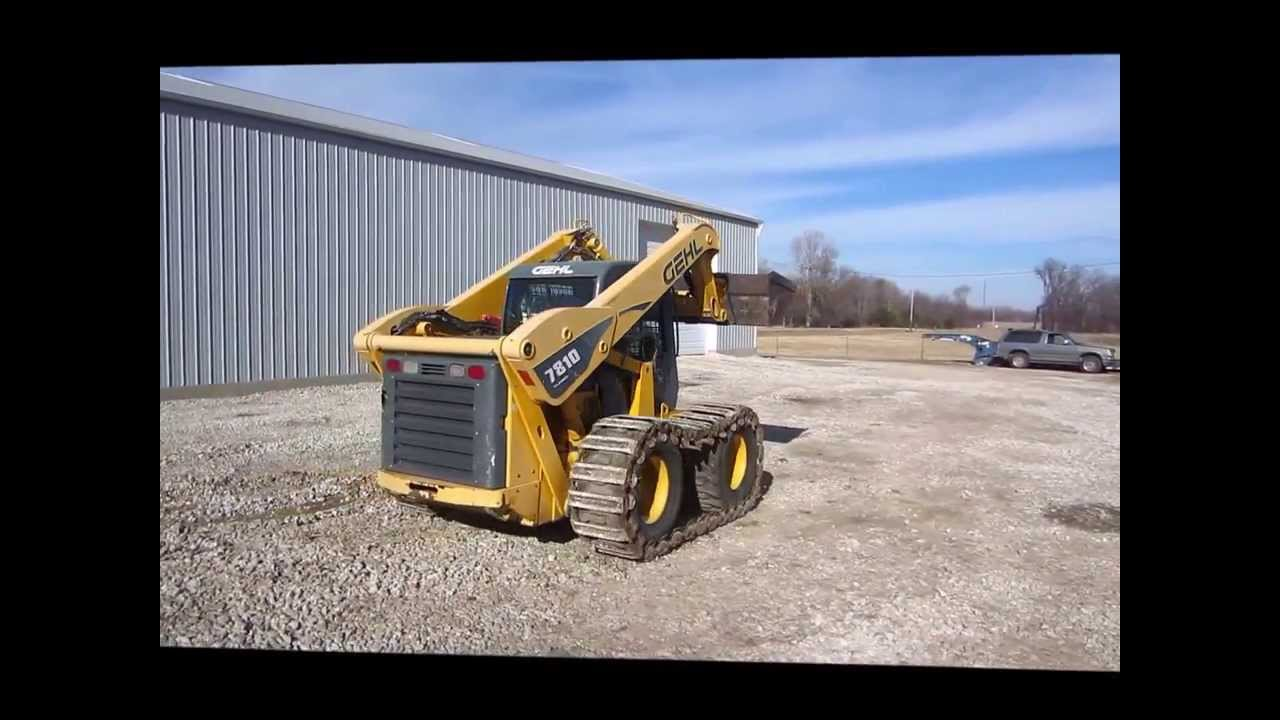 2005 Gehl 7810 Turbo skid steer for sale | sold at auction January 30, 2014