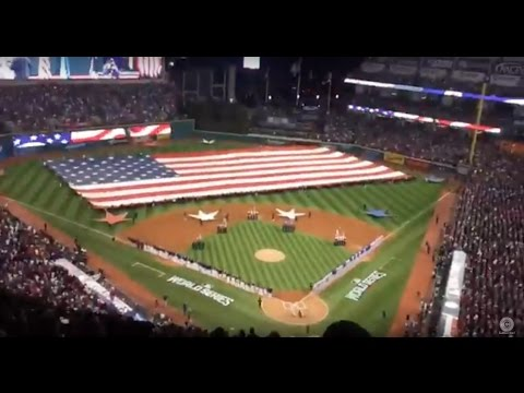 Time-Lapse Video: From Cavs' Ring Night to Indians' Game 1 of World Series at Progressive Field