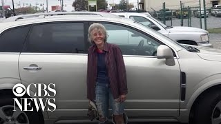 South Carolina community buys woman car after learning she walks 12 miles to and from work