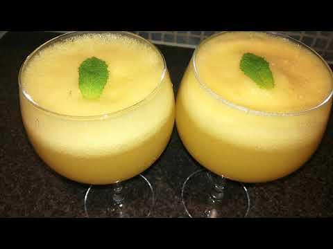 Fruit punch summer drink (Ramadan special) Orange pineapple juice