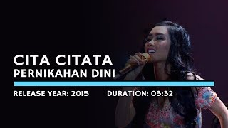 Video Cita Citata - Pernikahan Dini (Lyric) download MP3, 3GP, MP4, WEBM, AVI, FLV Agustus 2018