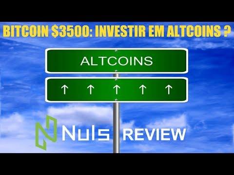 Se o BITCOIN parou de cair, devo investir em Altcoins? NULS Review!