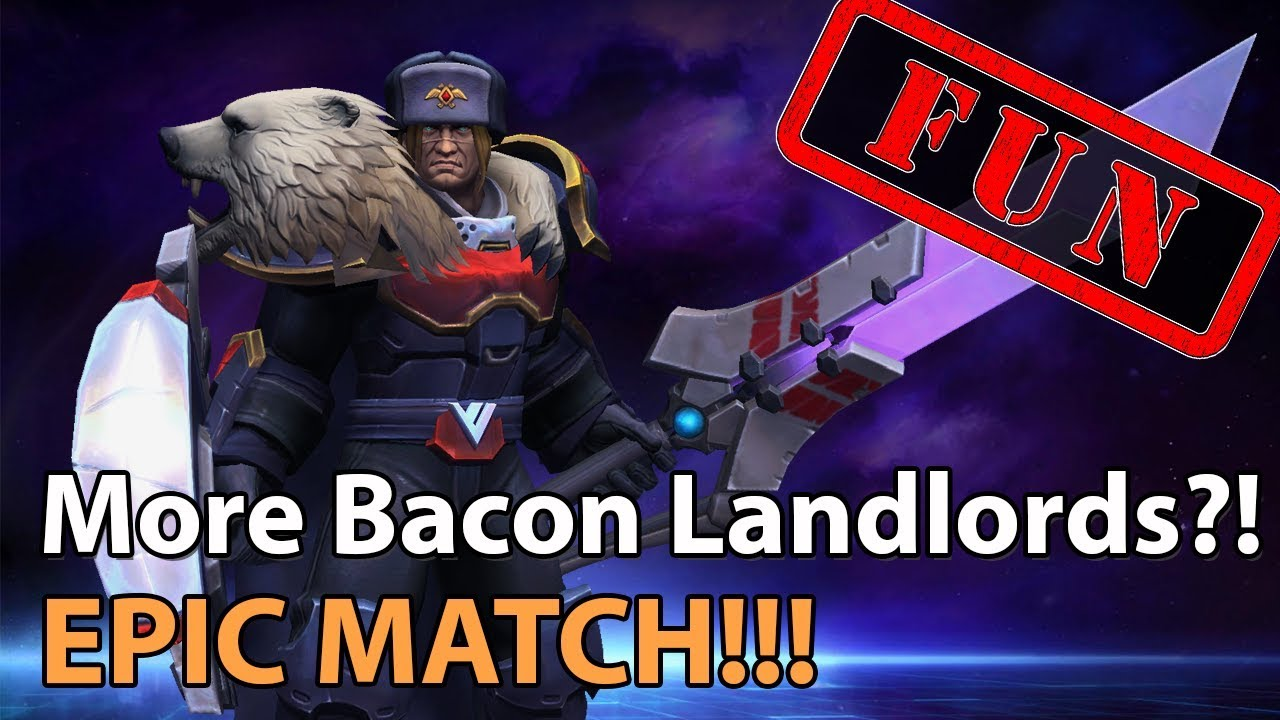 ► Heroes of the Storm: More BaconLandlords! - Division 7 - Heroes Lounge