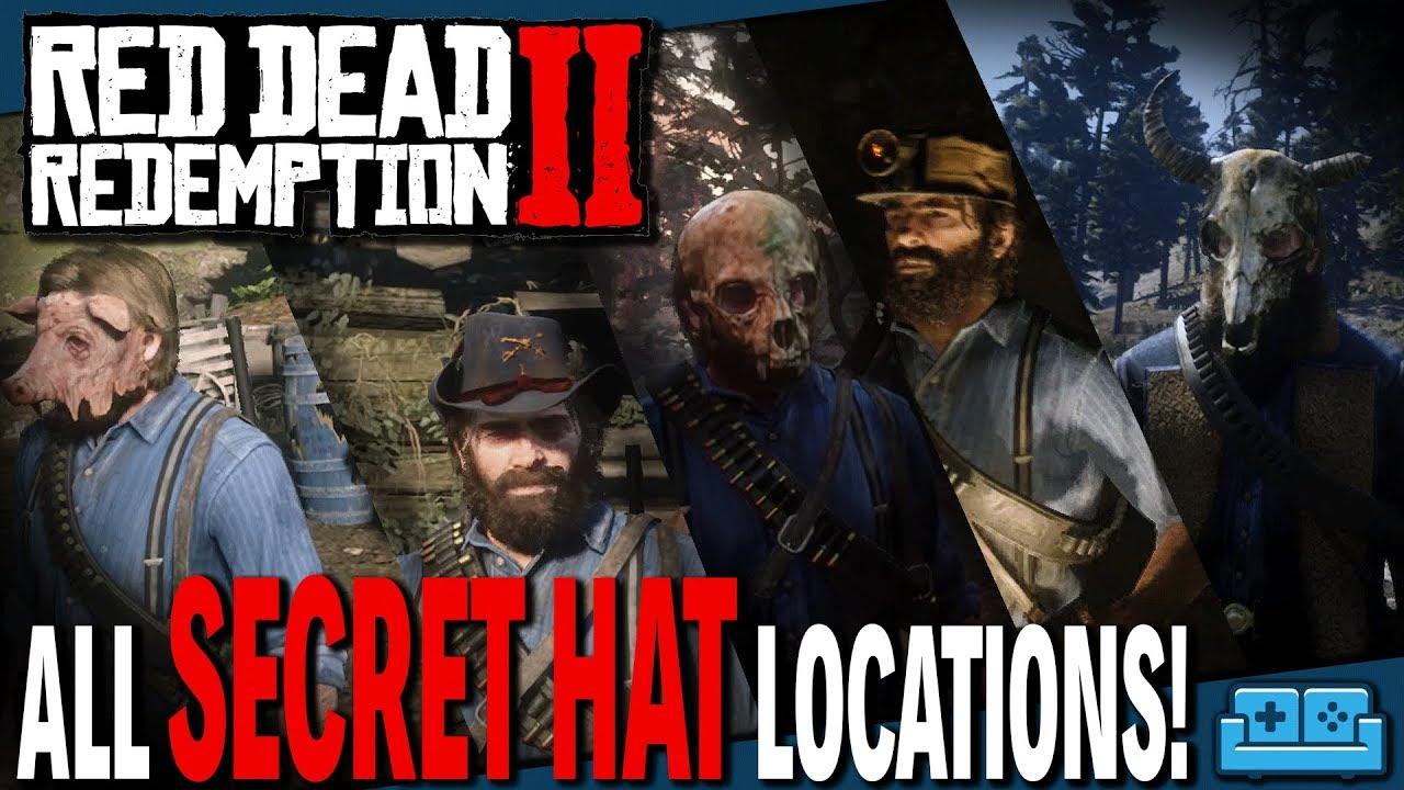 Red Dead Redemption 2: Unique Hats Locations   Secret Customization