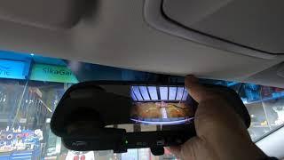 쏘나타 차량의 후방카메라, 룸미러 후방 모니터를 영상과…