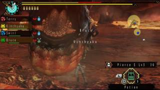 MHP3rd PPSSPP multiplayer with Evolve