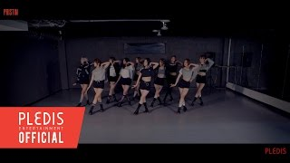 special video pristin 프리스틴 black widow dance practice