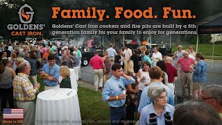 Goldens' Cast Iron - Kamado Grill - Food. Family. Fun. BBQ Recipes!
