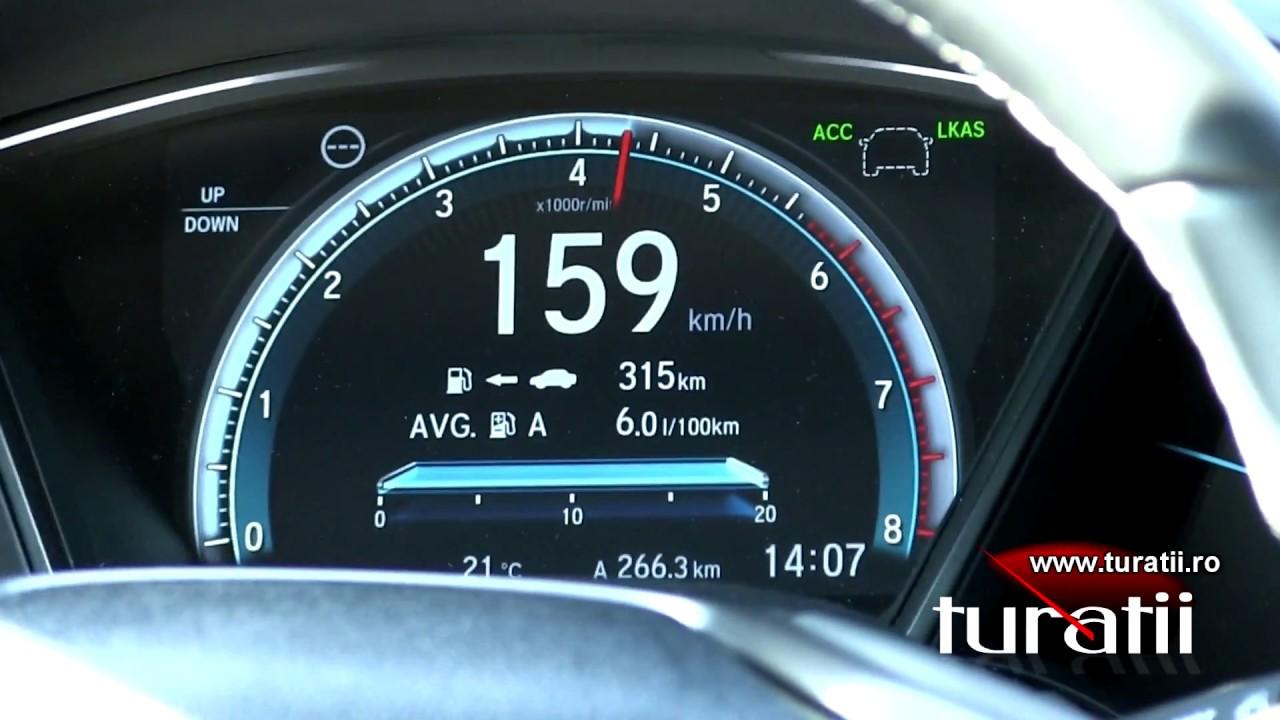 Honda Civic 1.0l VTEC Turbo explicit video 3 of 3 - YouTube