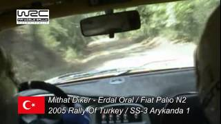 Mithat Diker - Erdal Oral WRC Rally Of Turkey 2005