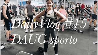 DailyVlog #15 : DAUG sporto