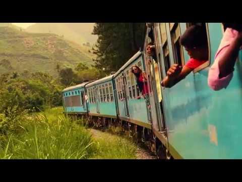 Most beautiful train tour in sri lanka