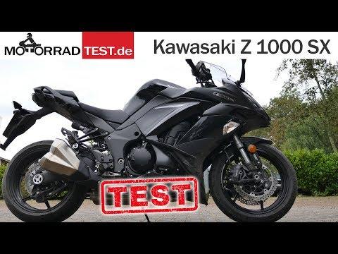 Kawasaki Z1000 SX   TEST (deutsch)