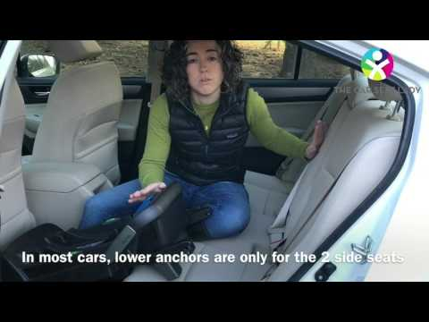TheCarSeatLady installs the Nuna Pipa base with LATCH and load leg