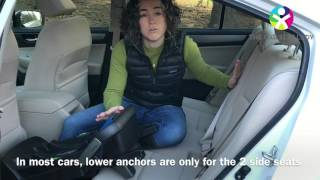 Nuna Pipa: Base installation with LATCH and load leg (The Car Seat Lady)