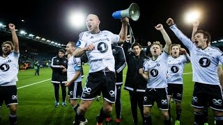 Rosenborg Celebrating League Title With Supporters!