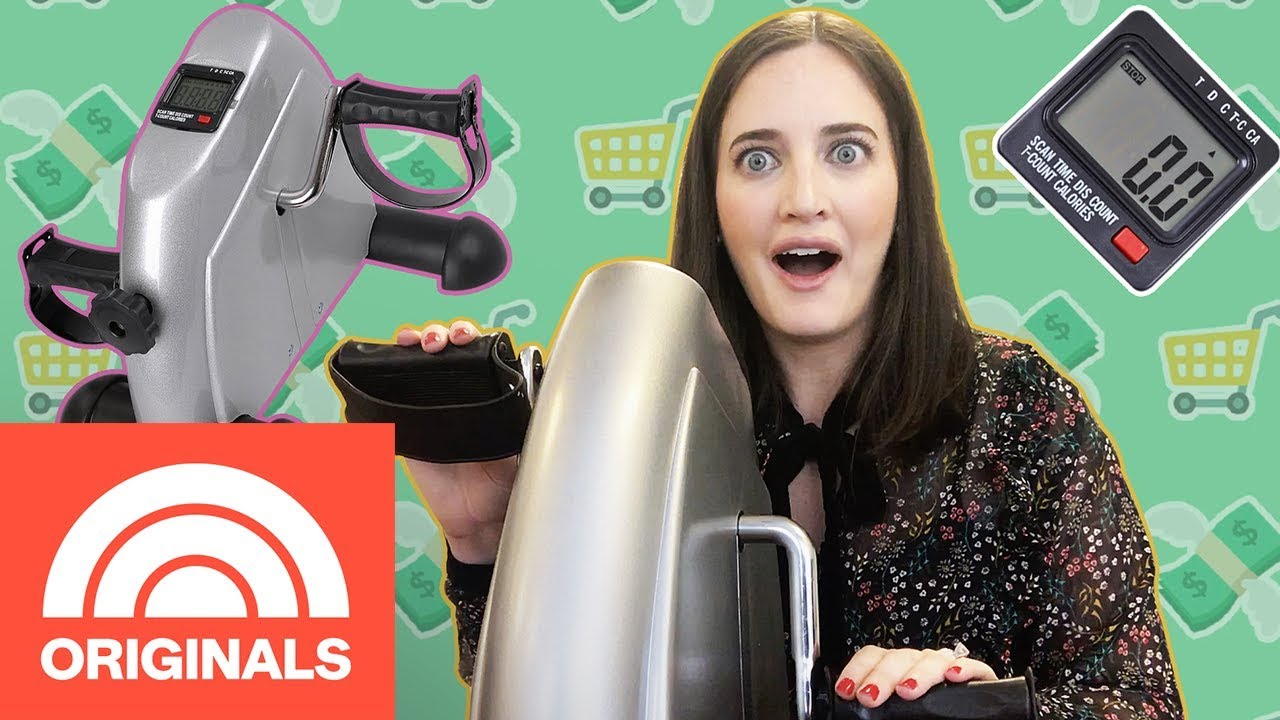 The Check Out: We Exercised At Work With This Under-Desk Bike | TODAY