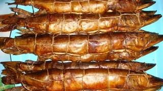 Копчение рыбы от ТУГОЛЕСЬЕ!Щука окунь горячего копчения!Как коптить рыбу.