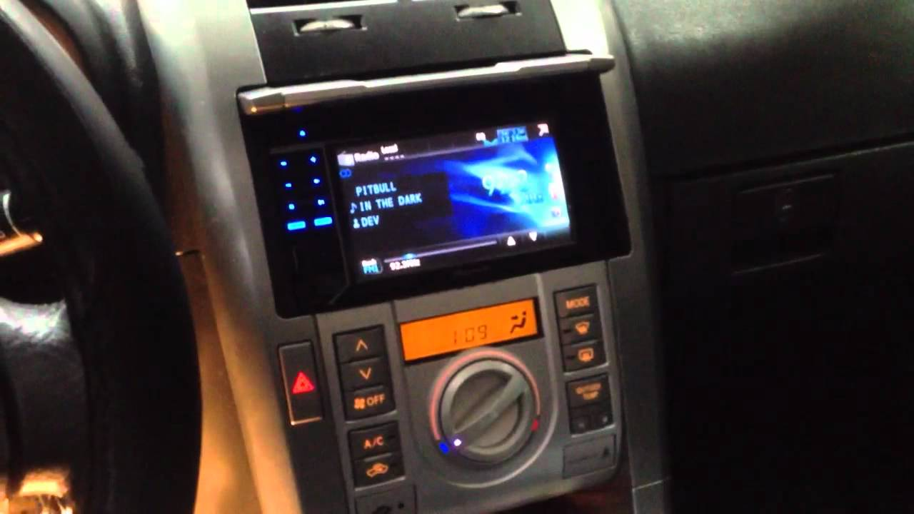 scion tc 2005 with pioneer avh p3300bt youtube. Black Bedroom Furniture Sets. Home Design Ideas
