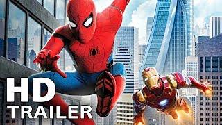 SPIDER-MAN: Homecoming - ALLE Trailer & Clips Deutsch German (2017)